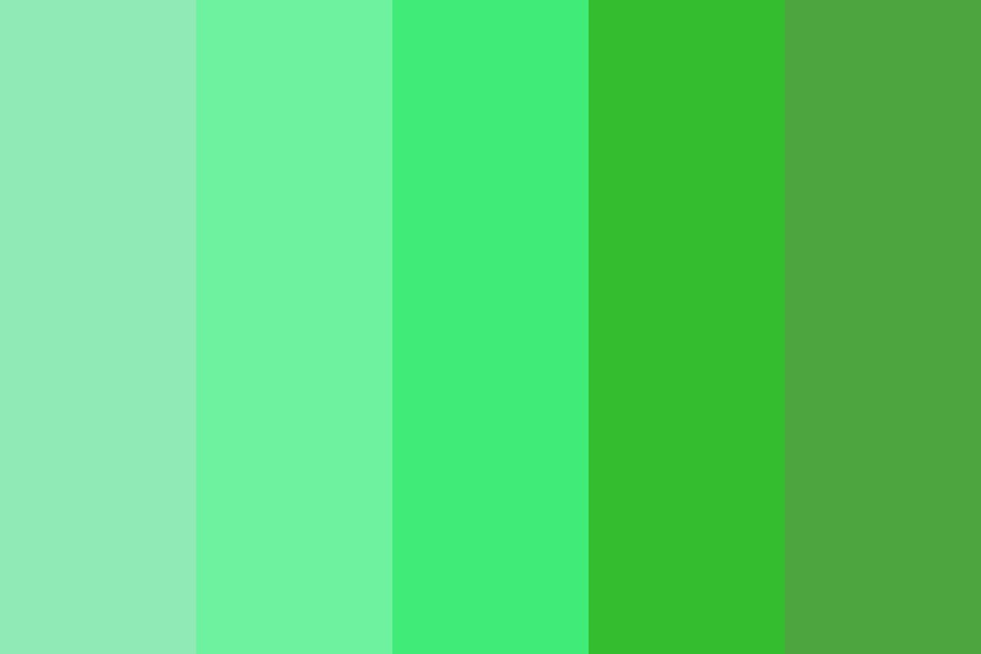 Forest Day Color Palette