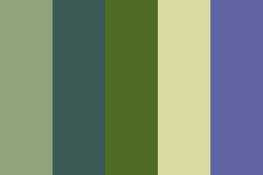 Forest Fight Color Palette