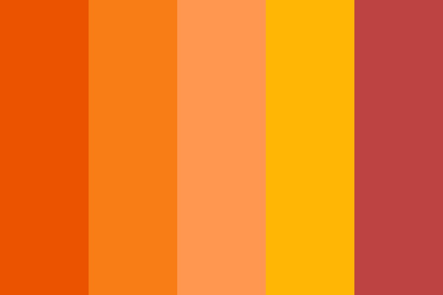 Forest Fire Color Palette