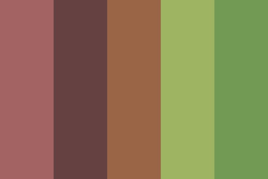Forest In The Dawn Color Palette