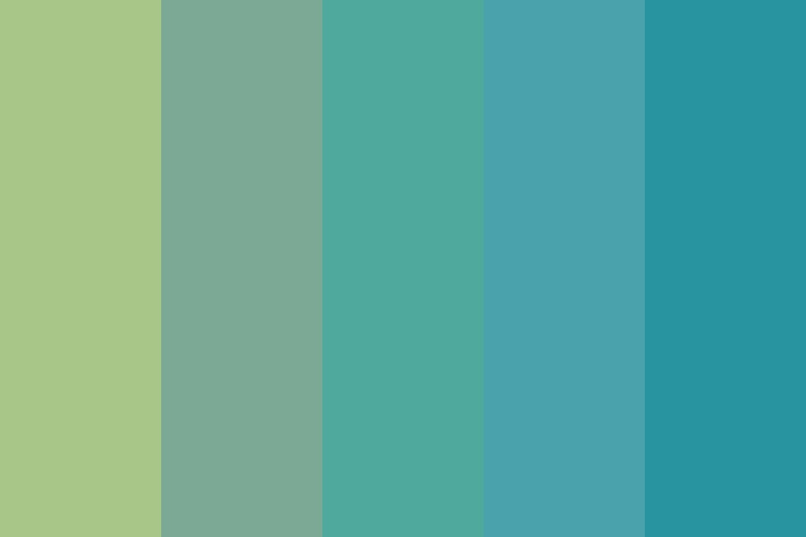 Forest Lake Color Palette