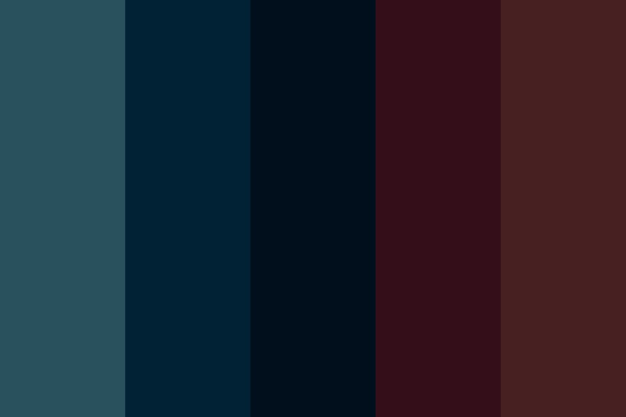 Forest Night Color Palette