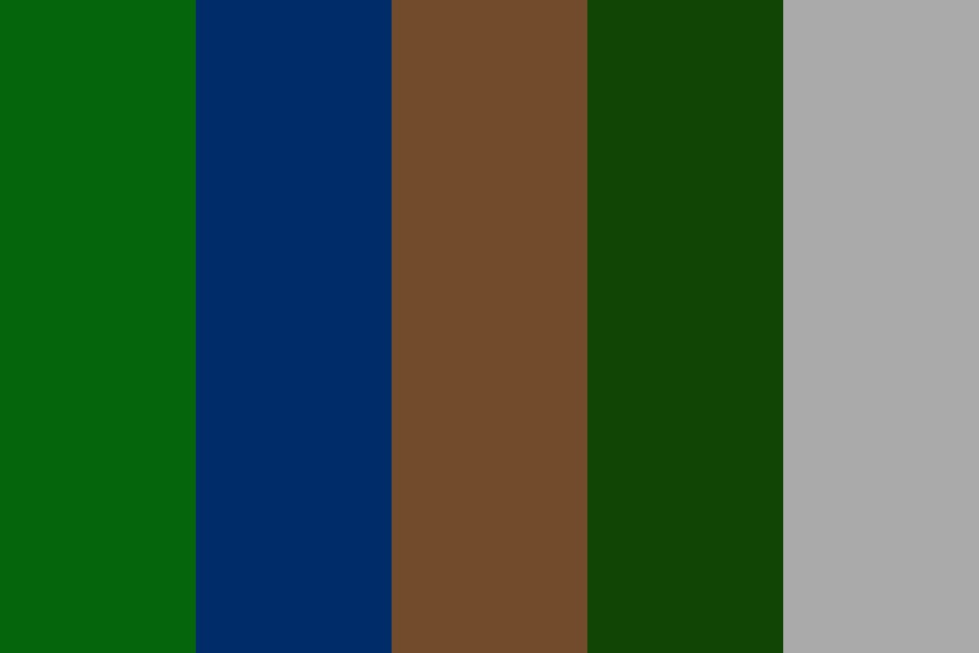 Forest Pallete Color Palette