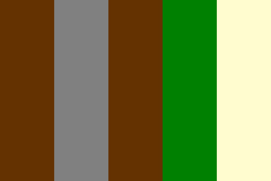 Forest Riders Color Palette