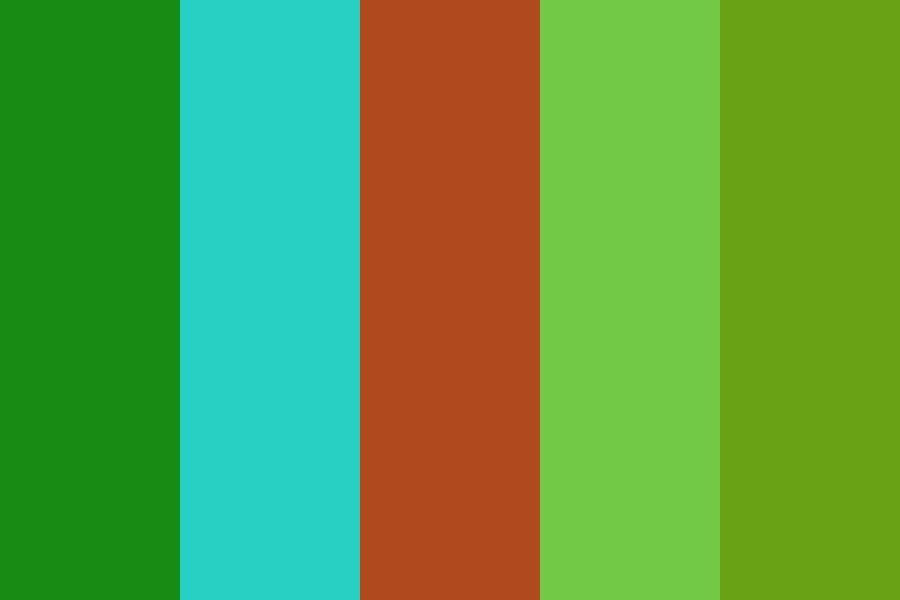 Forest Tranquility Color Palette