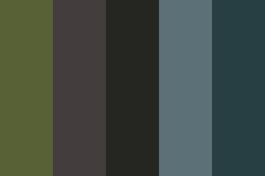 Forest Waterfall Color Palette