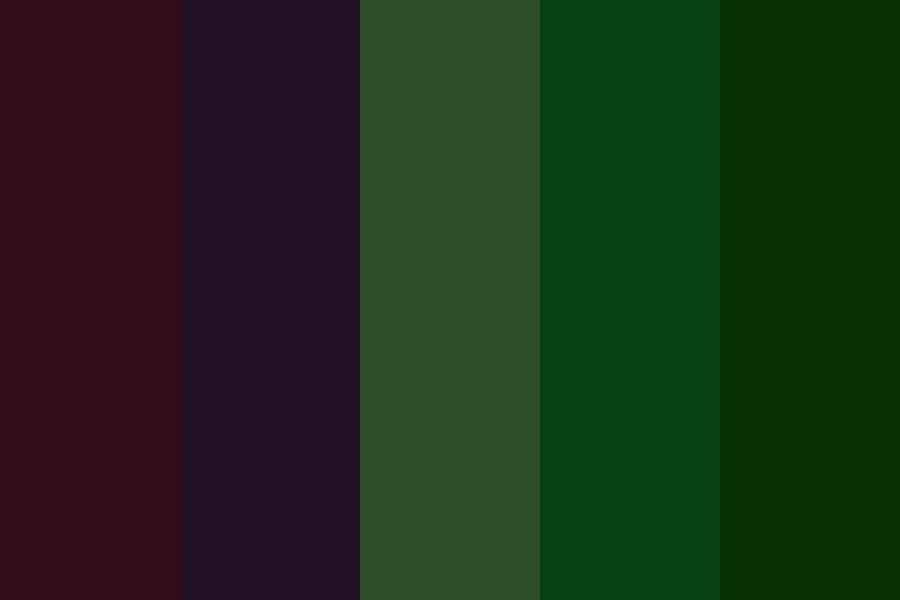 Forest Witches Color Palette