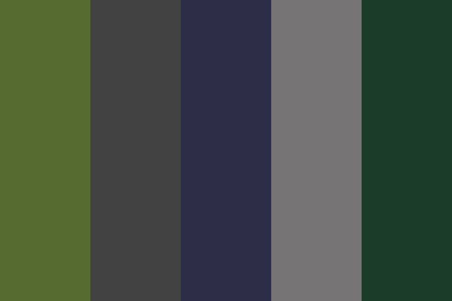 Forest er Color Palette