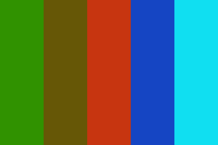 Forestry Color Palette
