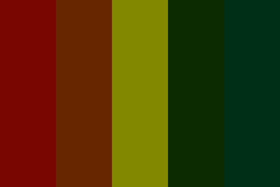 Forests Edge Color Palette