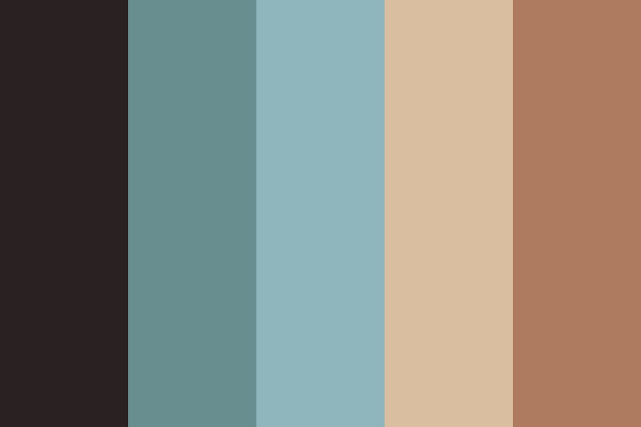 Forgotten Beach Color Palette