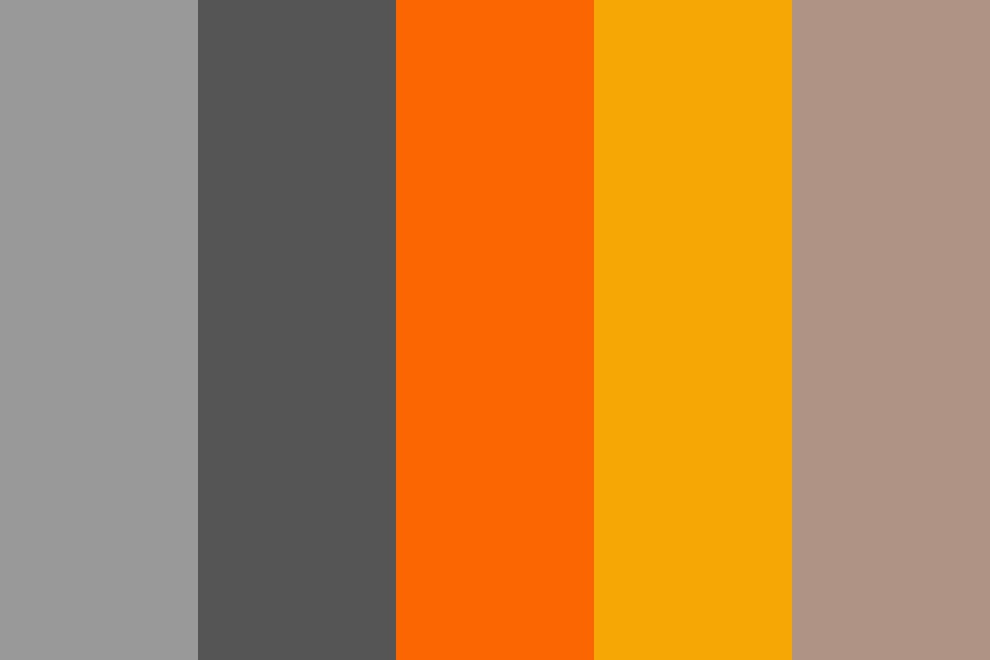 Fox Logo Color Palette
