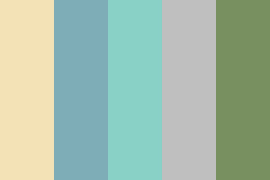 Frank Sinatra Estate Wedding Color Palette