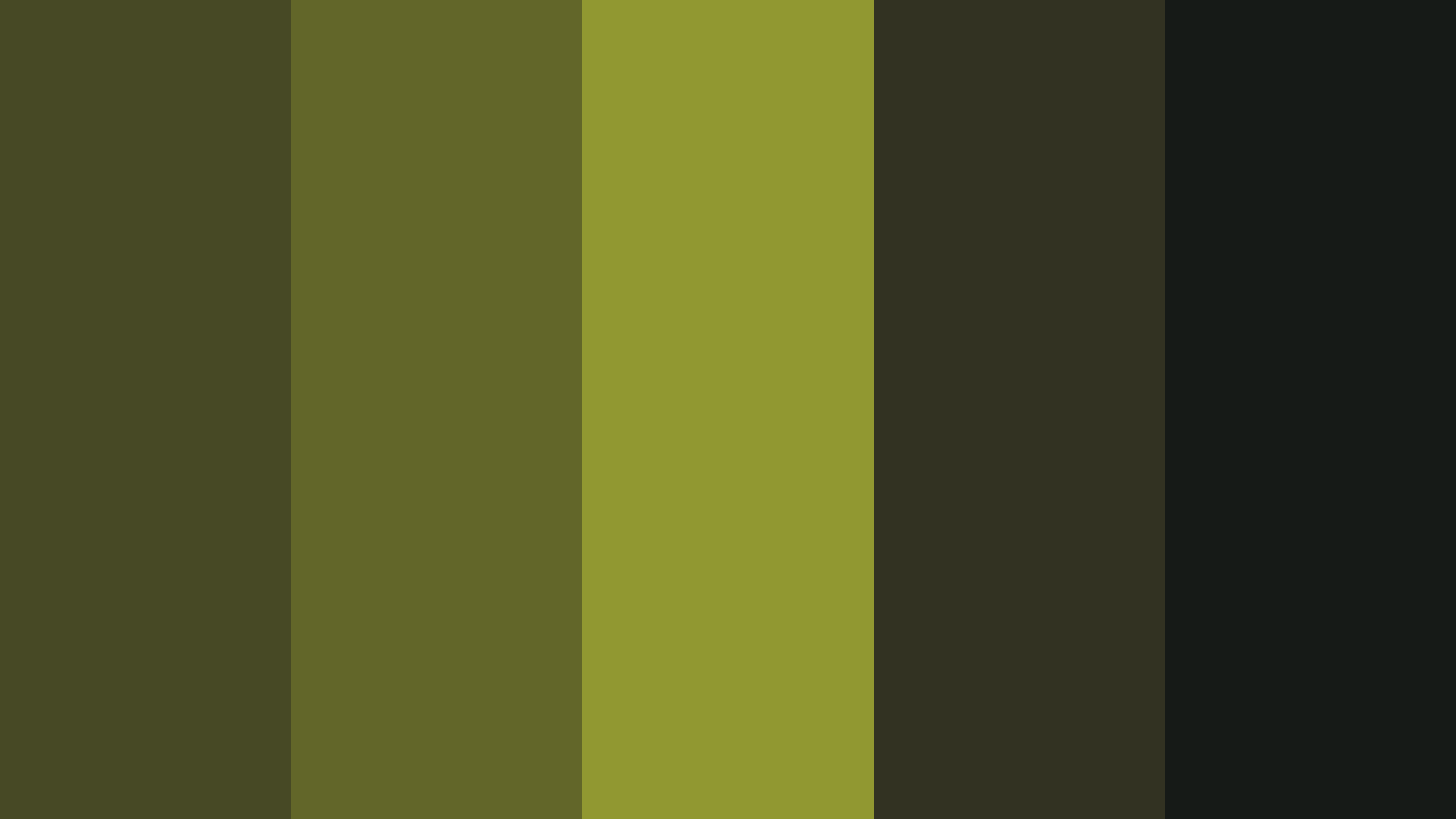 Frankenstein Monster Color Palette