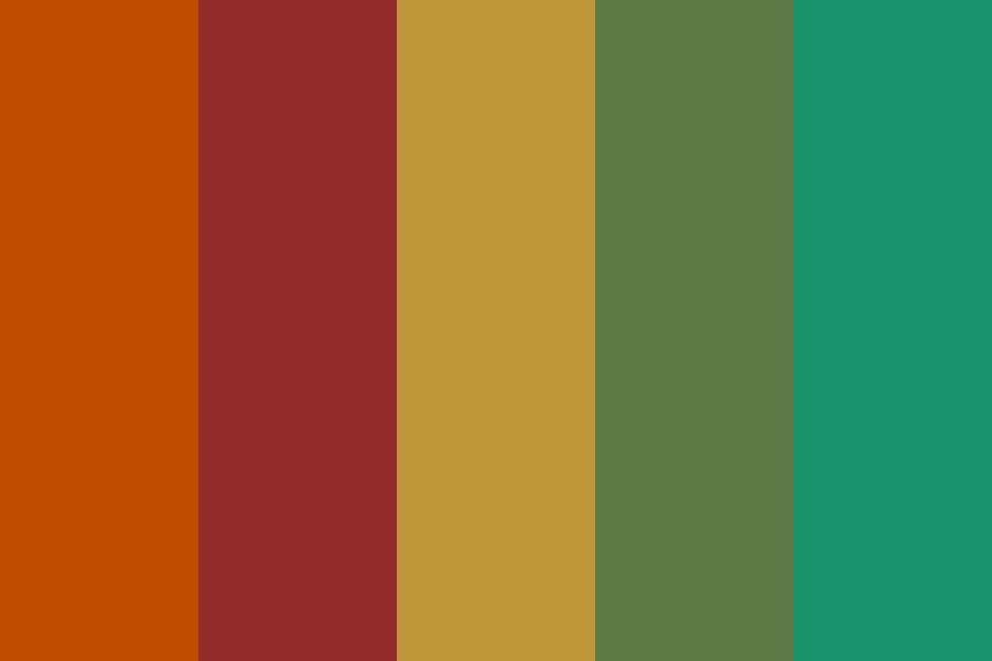 Fred Weasley Color Palette