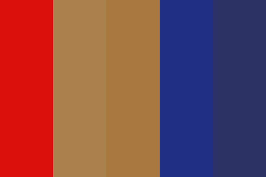 Free Red Color Palette