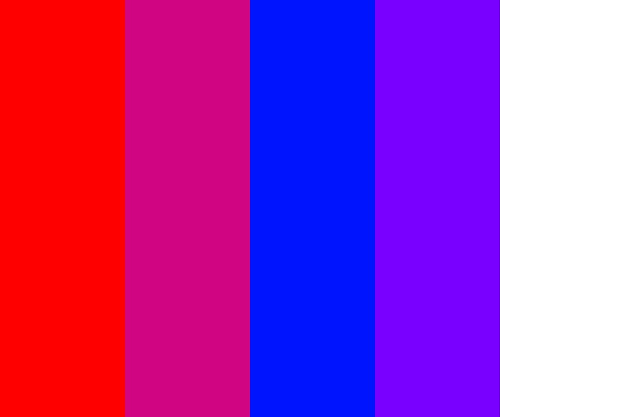 French Flag Color Palette