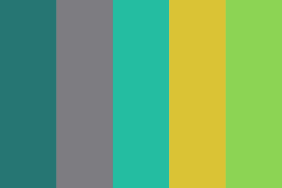 Fresh Summer Color Palette