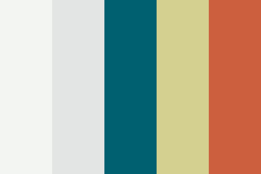 From Ocean To Desert Color Palette