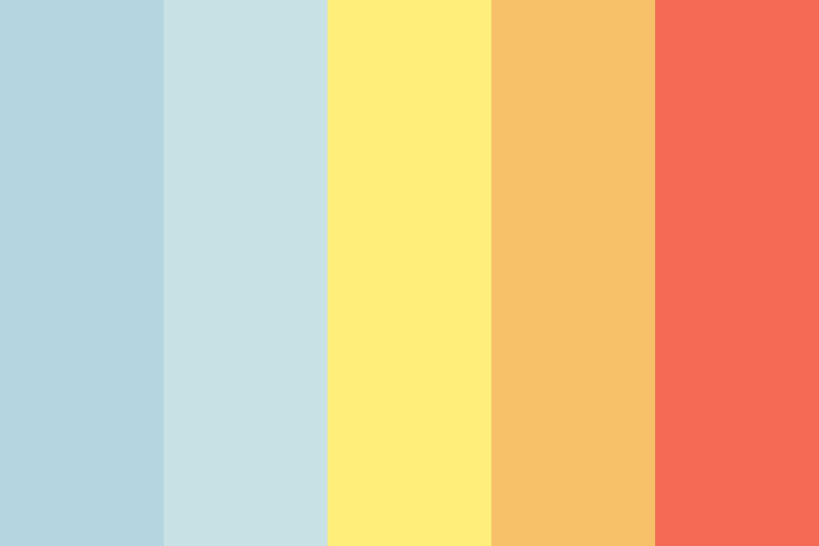 From Sunrise To Sunset Color Palette