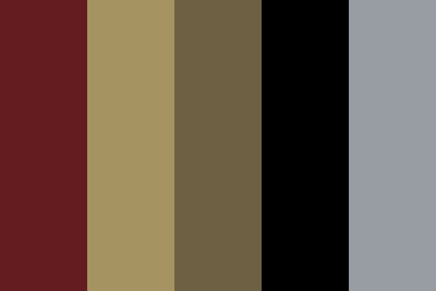 From Under The Cork Tree Color Palette