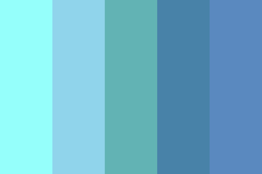 Frozen Desert Color Palette