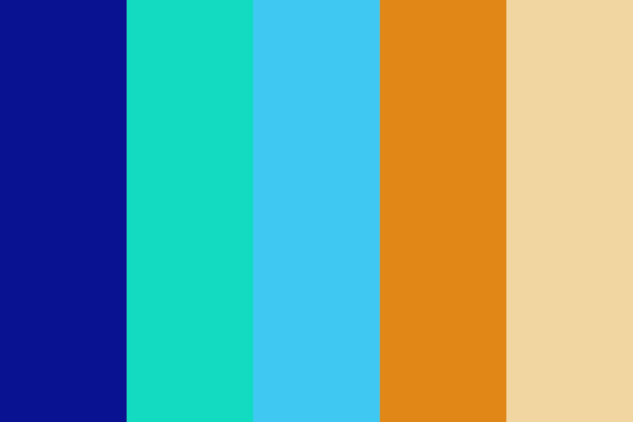 Fusion Brights Color Palette