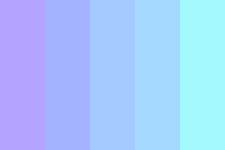 Galaxy Of Panda Color Palette