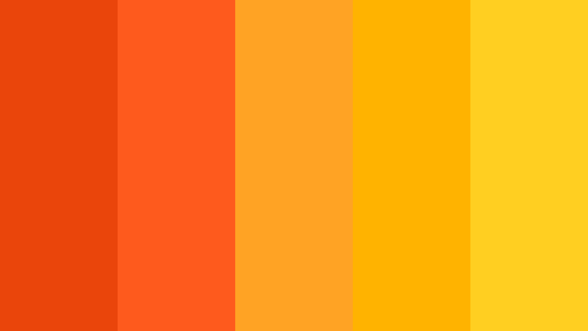 Giant Goldfish Color Palette