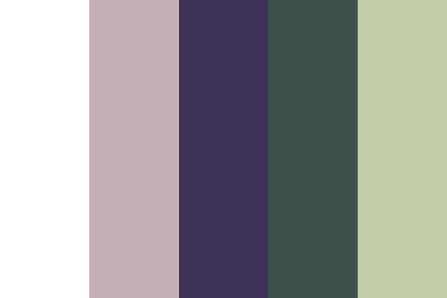 Gimoni Gray And Green Color Palette