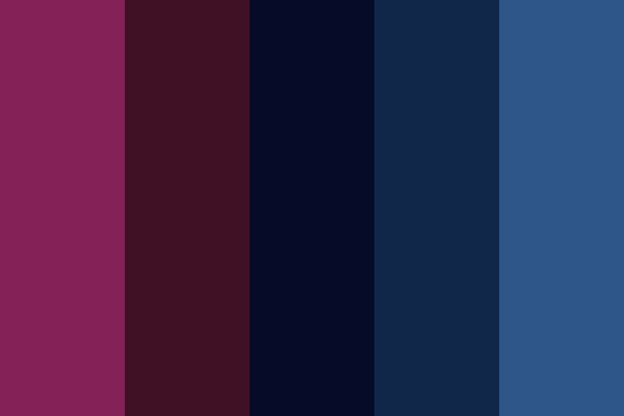 Girlnight Color Palette