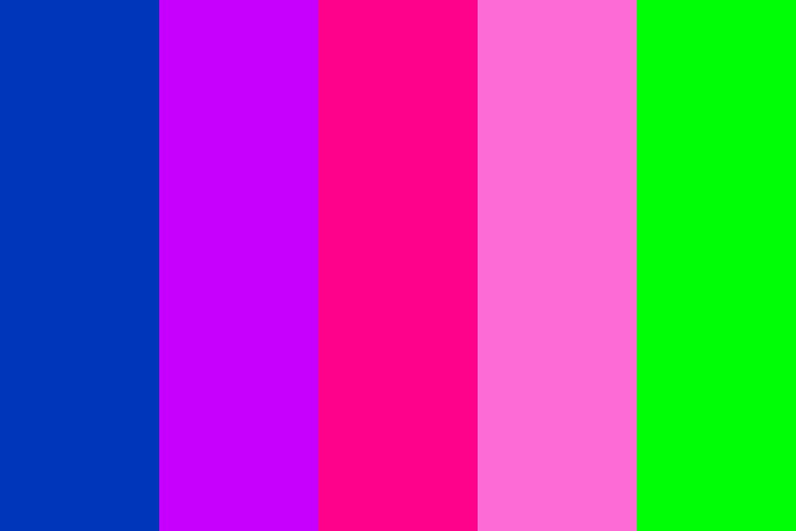 Girly Galaxy Color Palette