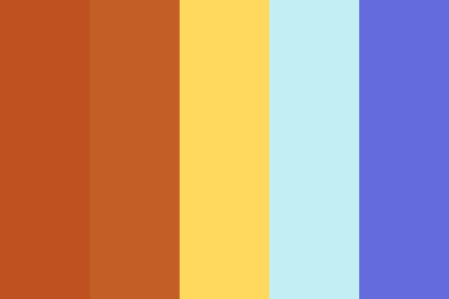 Glowing Sunset Color Palette