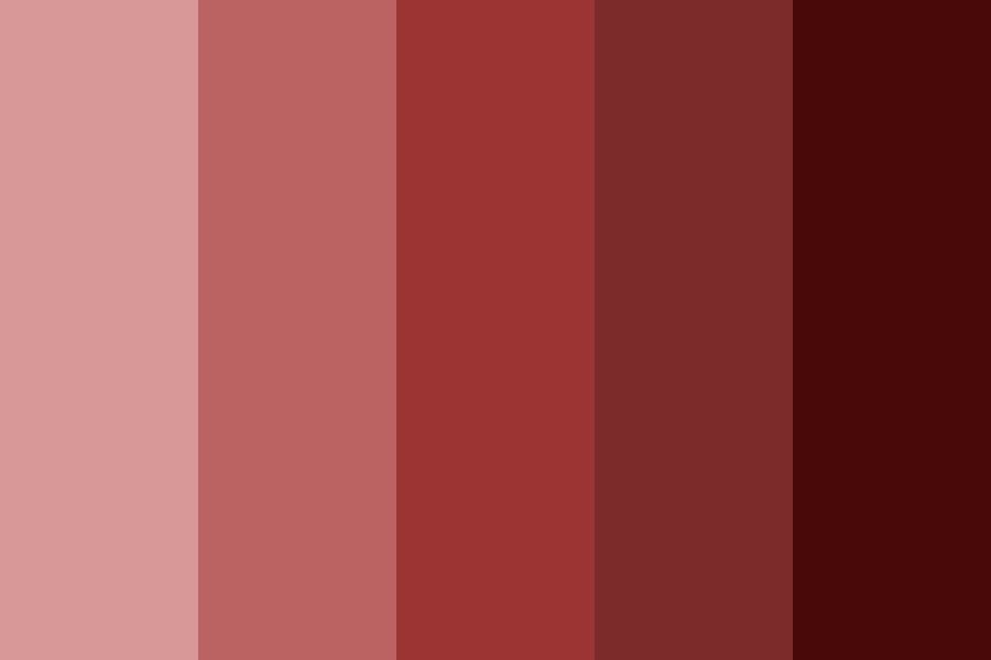 Go Red Color Palette
