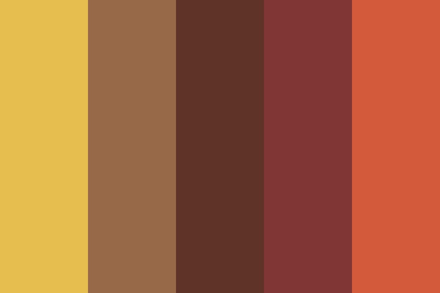 Goddess Of The Hearth Color Palette