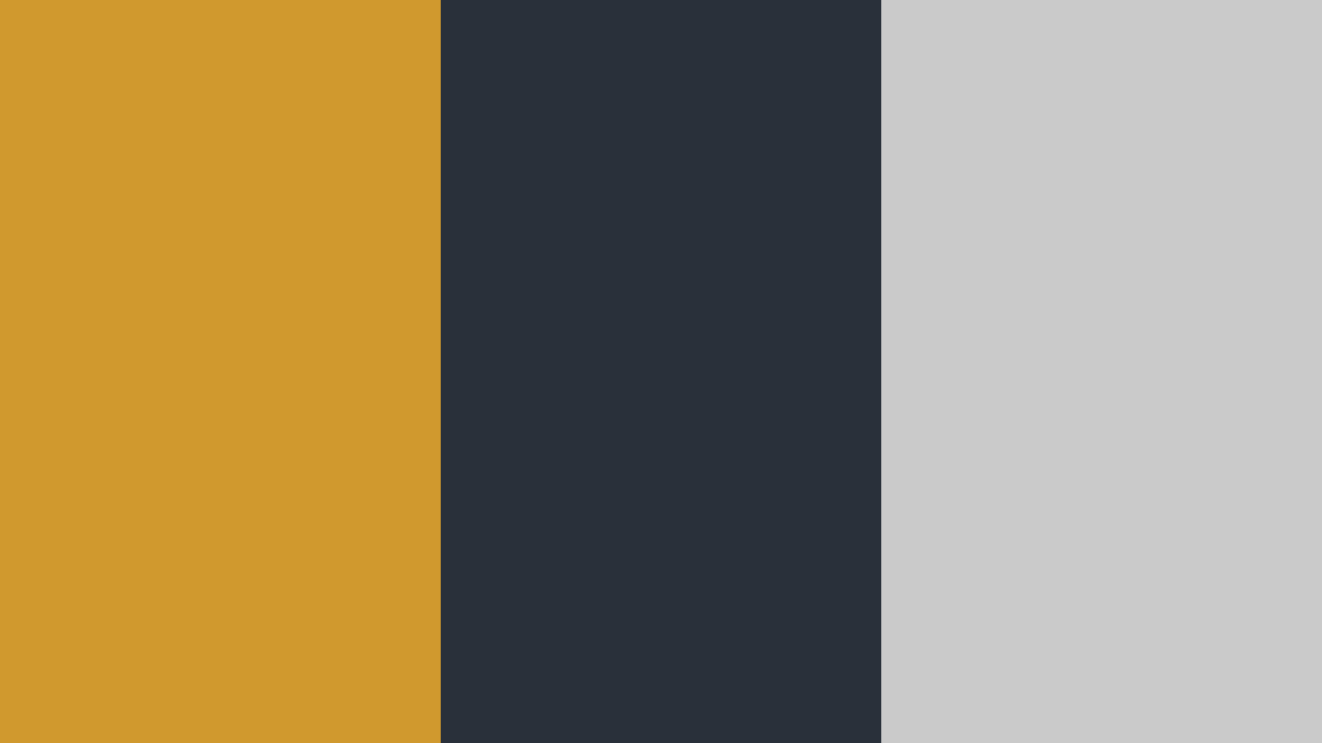 Gold, Black And Silver Color Palette
