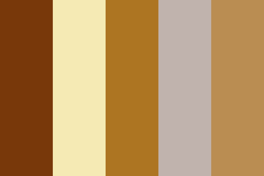 Gold And Silver Color Palette
