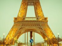 Gold Eiffel Of Paris Color Palette