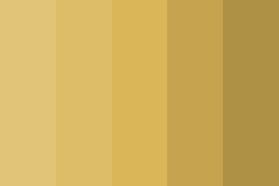 Gold Royal Color Palette