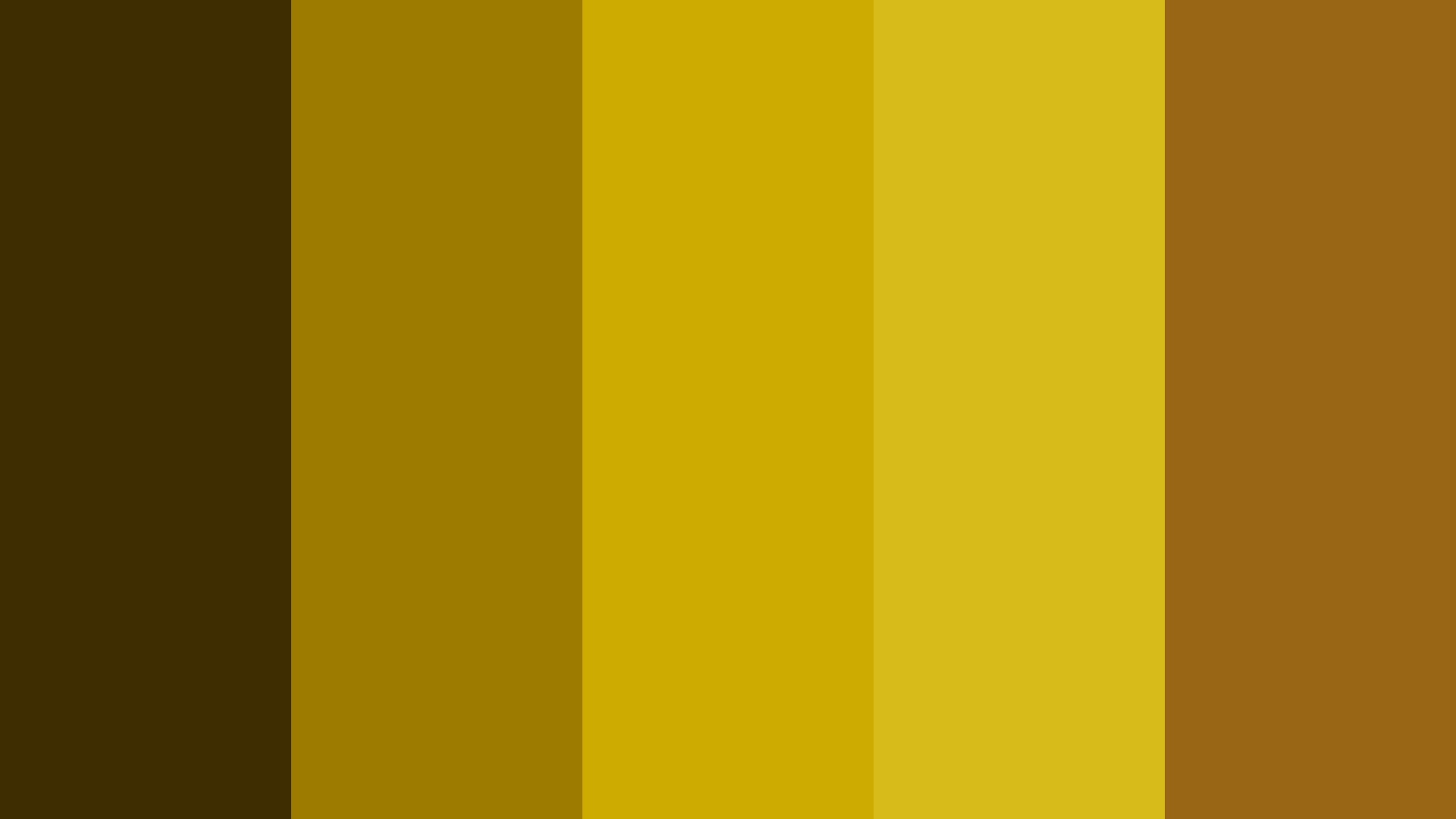 Gold Stamp Color Palette