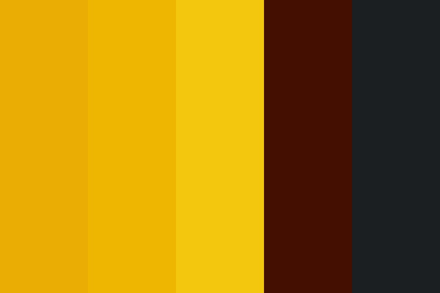 Golden Coins Color Palette