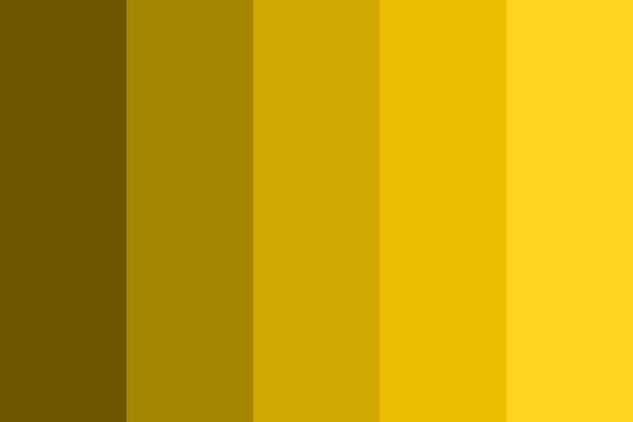 Golden Days Color Palette