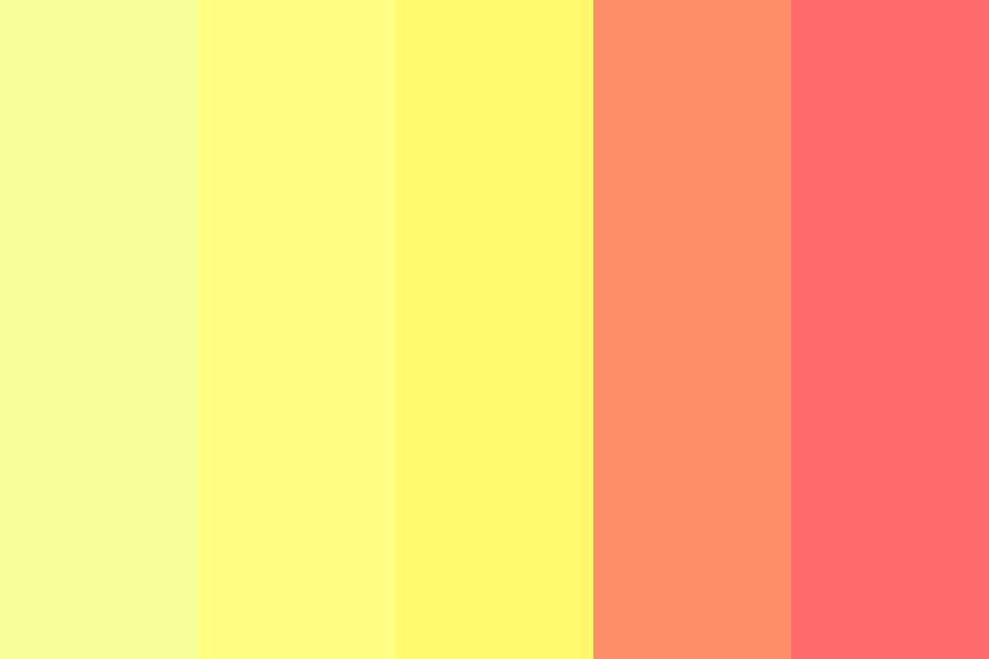 Golden Delicious Color Palette