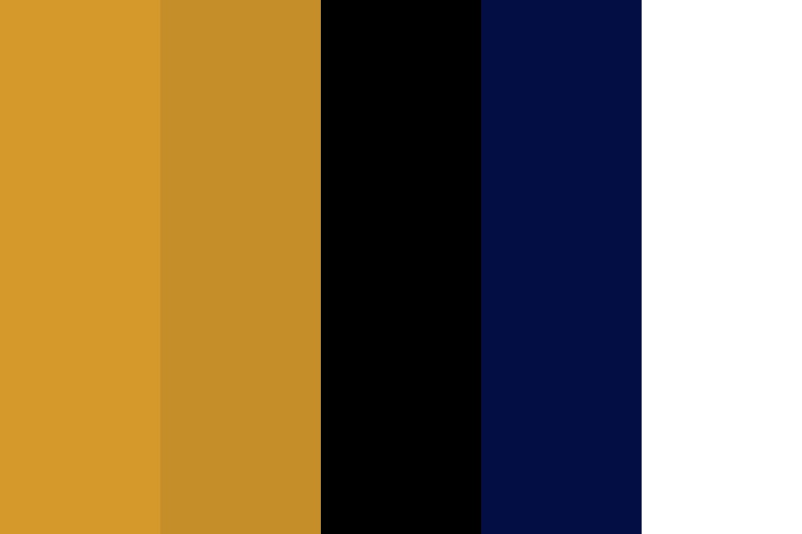 Golden Freddy Color Palette
