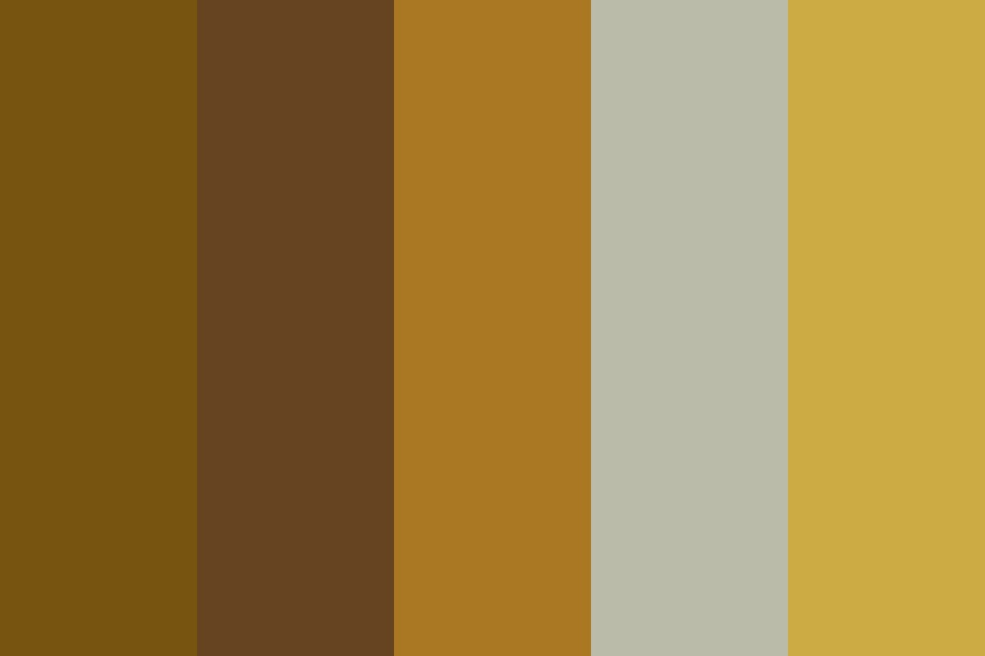 Golden Owl Color Palette