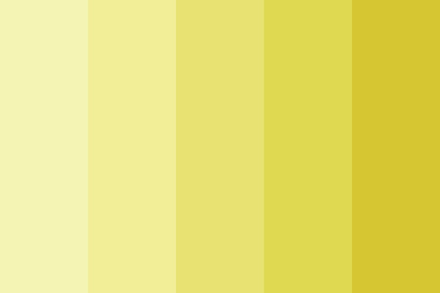 Golden Retriever Puppy Color Palette