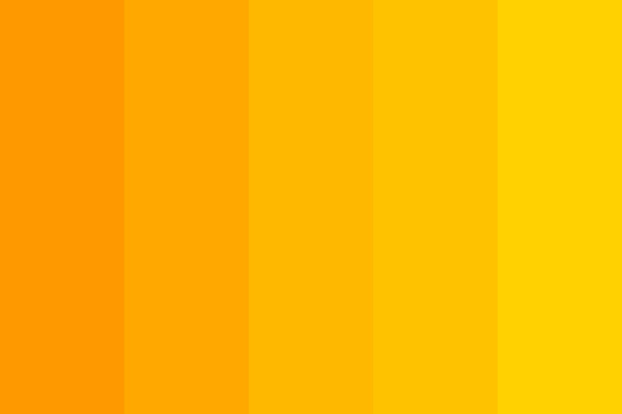 Golden Sunbeams Color Palette