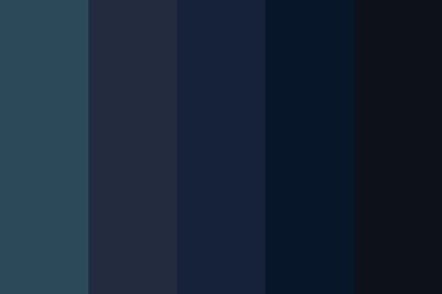 Goodnight Color Palette