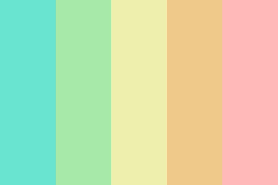 Goth Pastel Color Palette