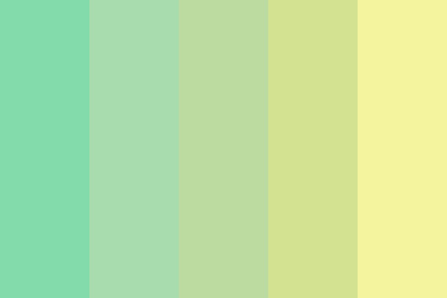 Granny Yellow Smith Color Palette